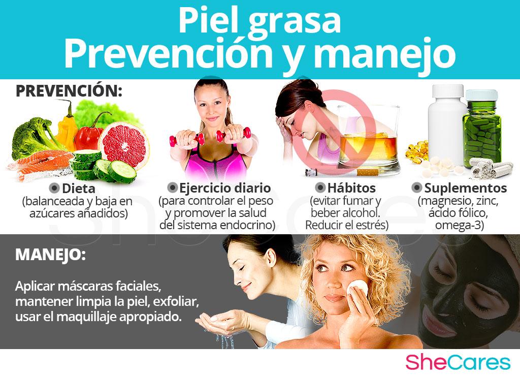 Prevención y manejo de la piel grasa