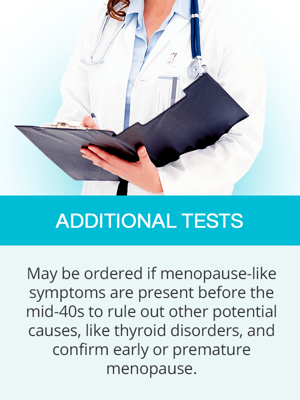 Additional menopause tests