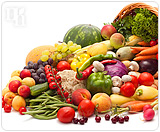 Eat a healthy and balanced diet that is filled with fruits and vegetables.
