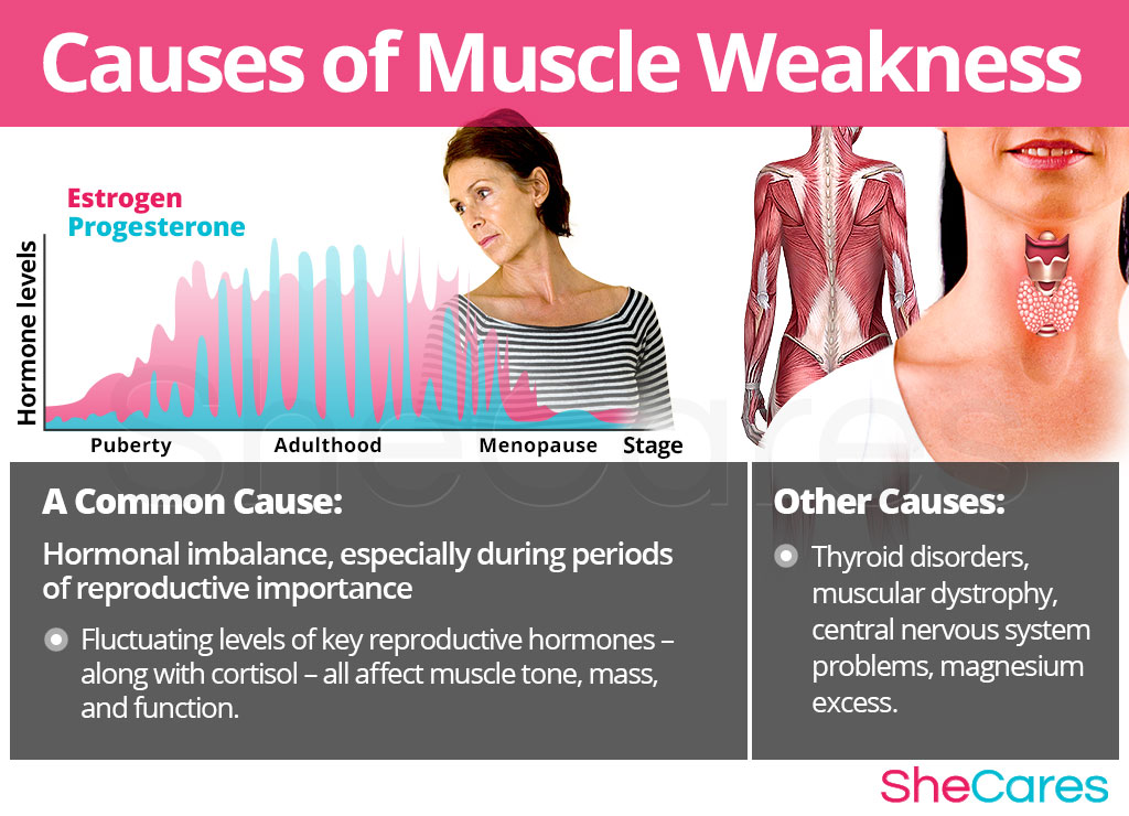 Causes of Muscle Weakness