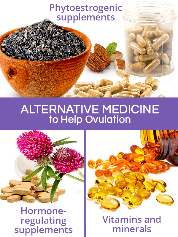 Alternative medicine to help ovulate