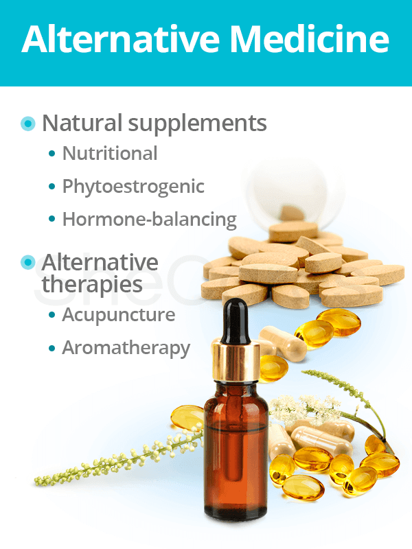 Alternative medicine for hormonal imbalance treatment