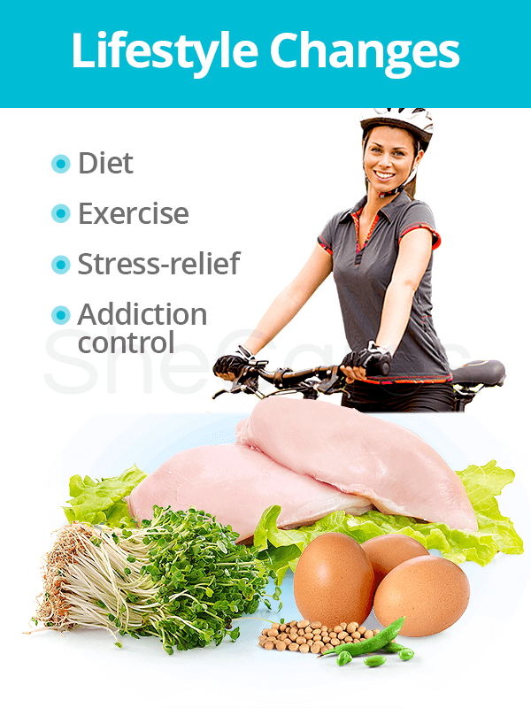 Lifestyle changes for hormonal imbalance treatment