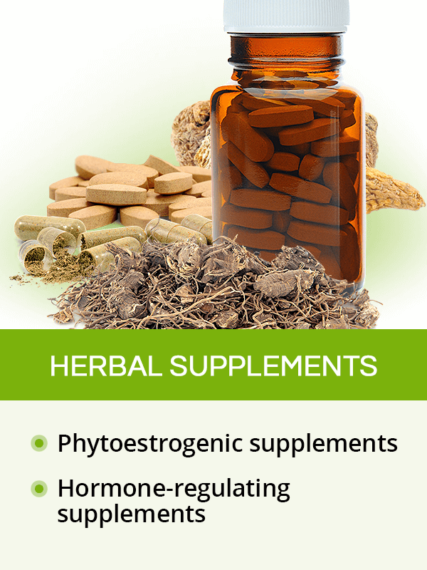 Herbal supplements for menopause symptoms