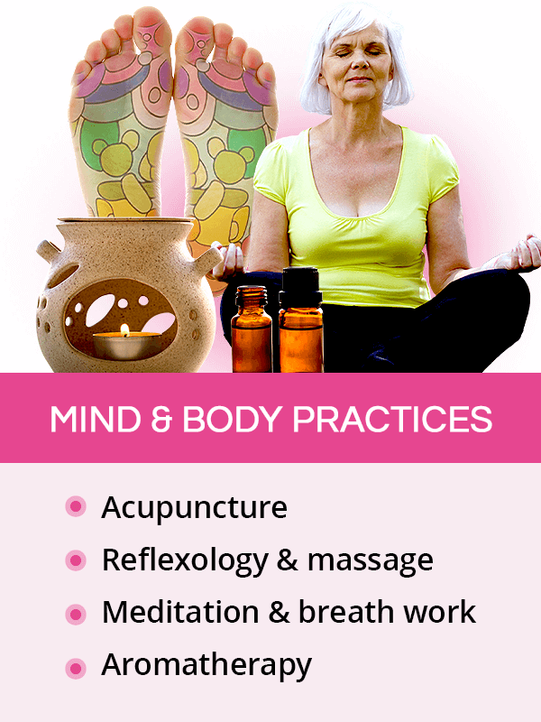 Body and mind practices for menopause symptoms