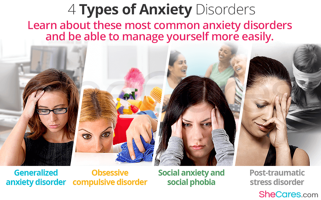 Learn about these most common anxiety disorders and be able to manage yourself more easily.