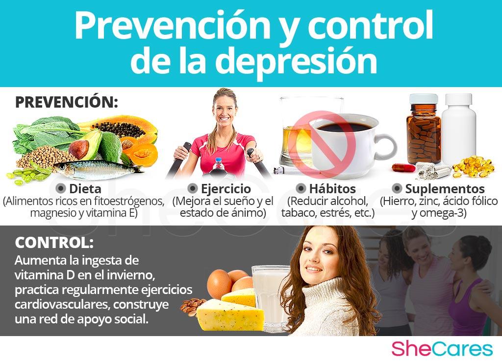 Prevención y control de la depresión