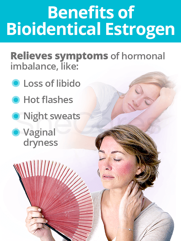 Benefits of Bioidentical Estrogen Replacement Therapy