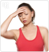Dizziness is one of the many symptoms of menopause.