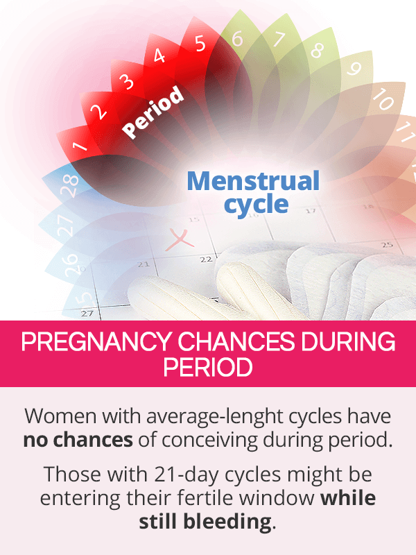 Pregnancy Chances during Period