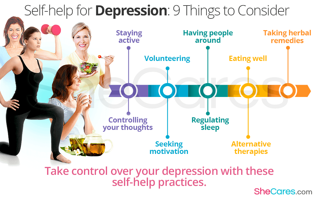 Self-help for Depression: 9 Things to Consider
