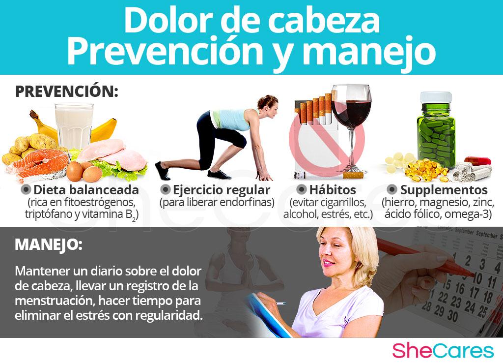 Dolor de cabeza - Prevención y manejo