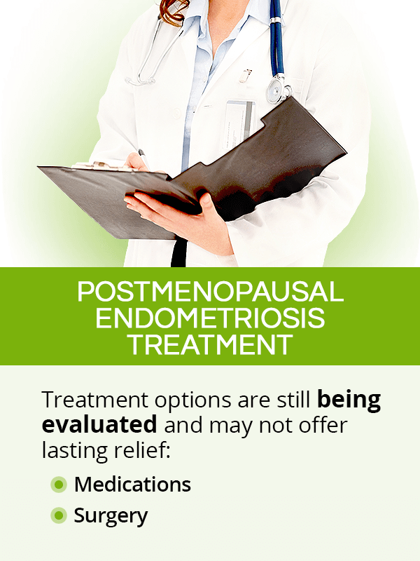 Postmenopausal endometriosis treatment