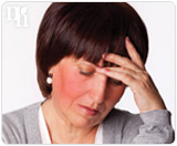 Hot flashes and mood swings are symptoms of testosterone imbalance