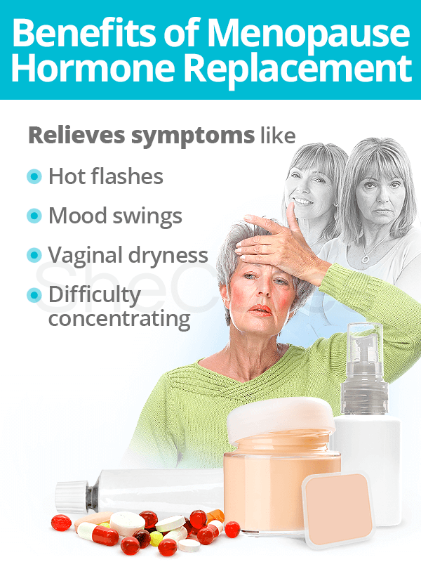 Benefits of Menopause Hormone Therapy