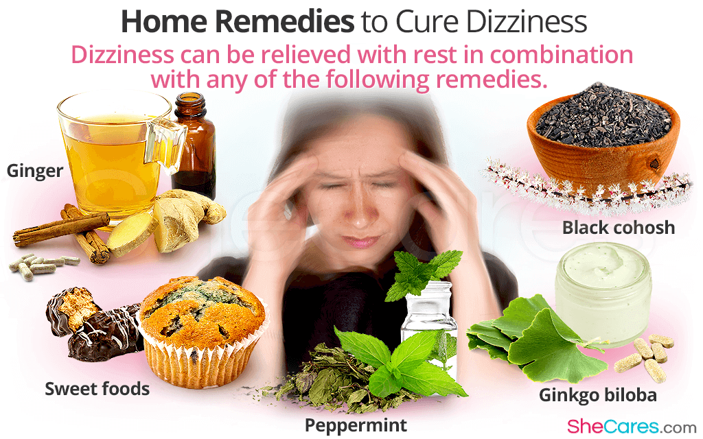 Home Remedies to Cure Dizziness