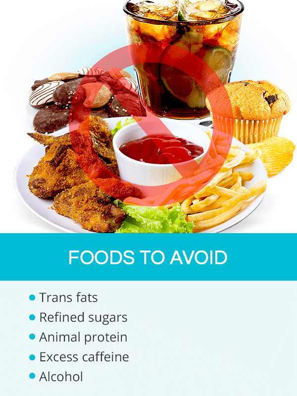 Foods to avoid when trying to get pregnant