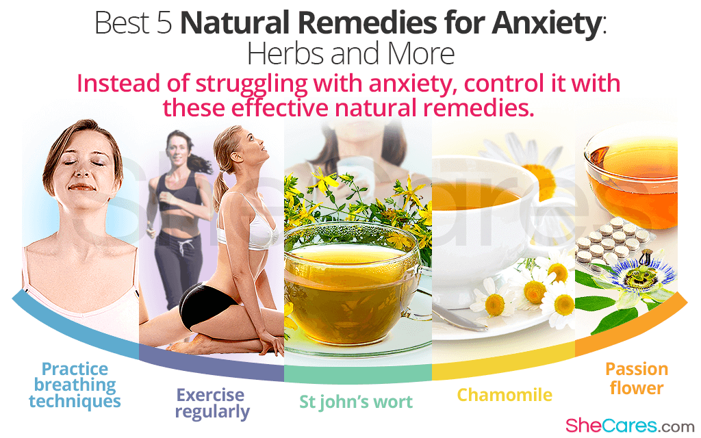 Best 5 Natural Remedies for Anxiety: Herbs and More