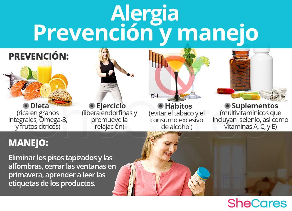 Alergia - Prevención y manejo