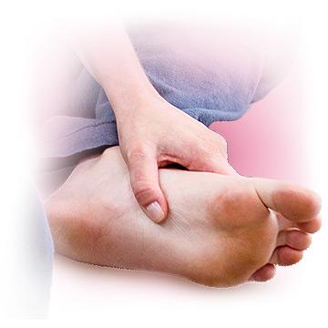 Foot reflexology for menopause