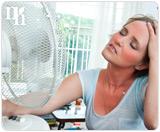 Estrogen hormones play a vital role in controlling the body's temperature.