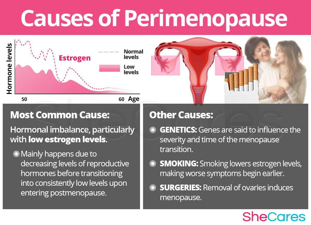 Perimenopause Symptoms Causes