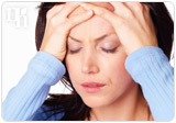 Progesterone deficiency causes headaches.