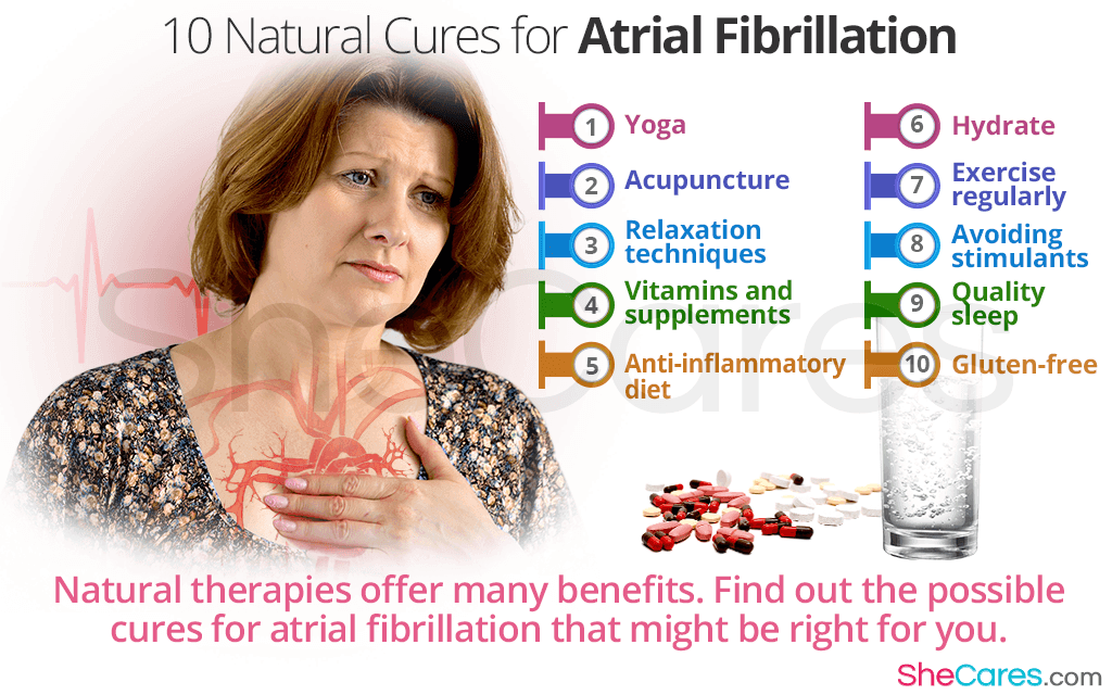 10 Natural Cures for Atrial Fibrillation