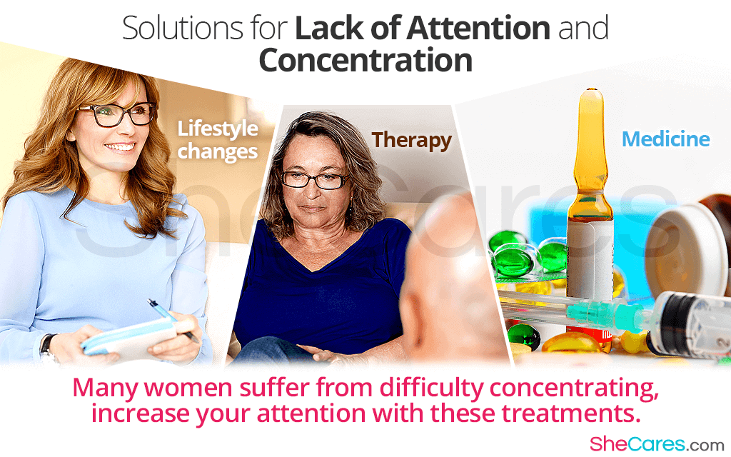 Solutions for Lack of Attention and Concentration