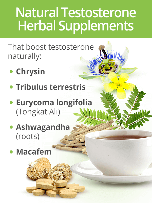 Herbal testosterone supplements