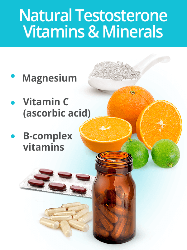 Testosterone vitamins and minerals