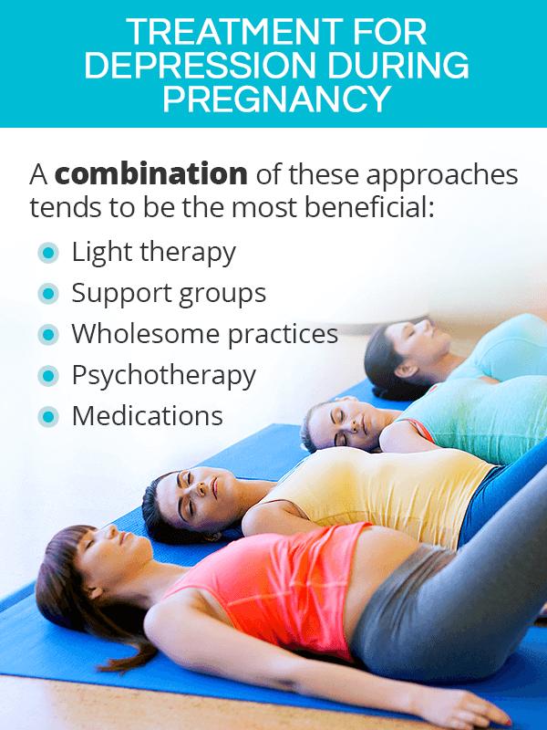Depression in pregnancy treatment