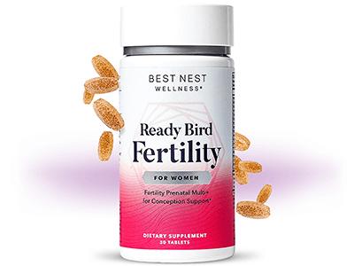 Ready. Set. Go Best Nest Women's Fertility Formula: Complete Information