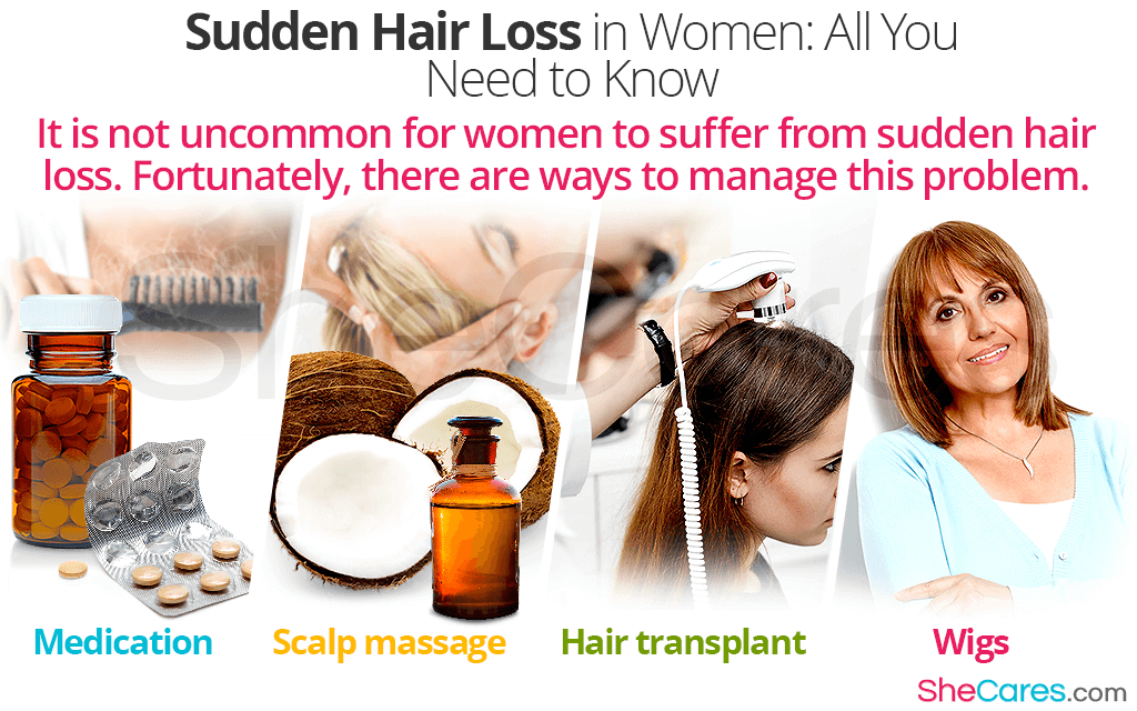 Sudden Hair Loss in Women: All You Need to Know
