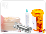 Progesterone can be administered in cream, oral pill, suppository, and injection