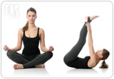 Yoga will help counteract the effects of hormonal imbalance.