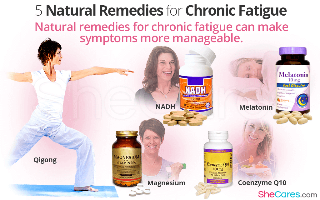 Natural remedies for chronic fatigue can make symptoms more manageable.