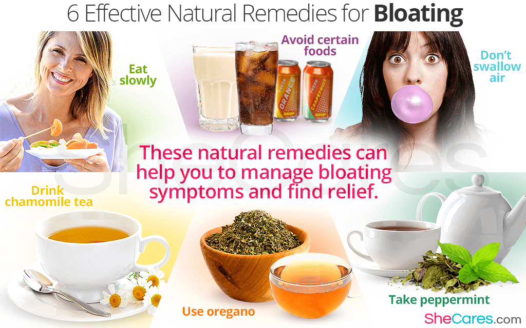 These natural remedies can help you to manage bloating symptoms and find relief.