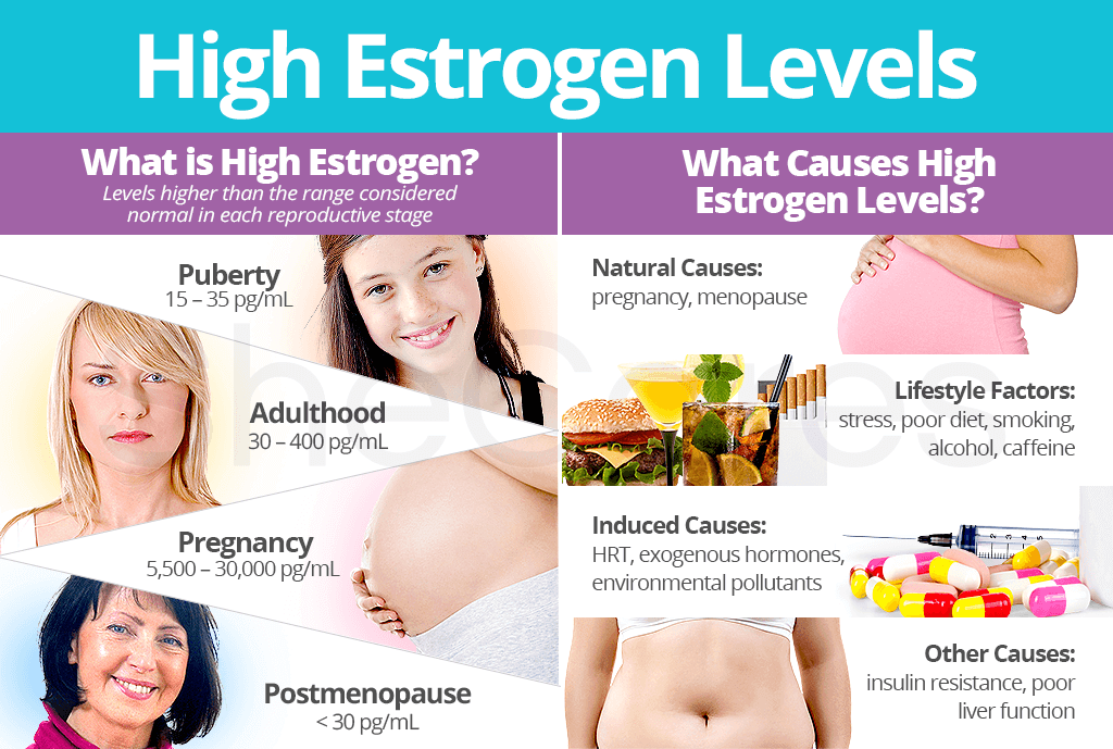 High Estrogen Levels: About & Causes