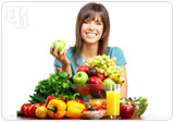 Dietary and lifestyle changes have a positive effect on hormone balance