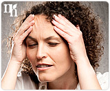Stress can affect a woman's hormonal system.