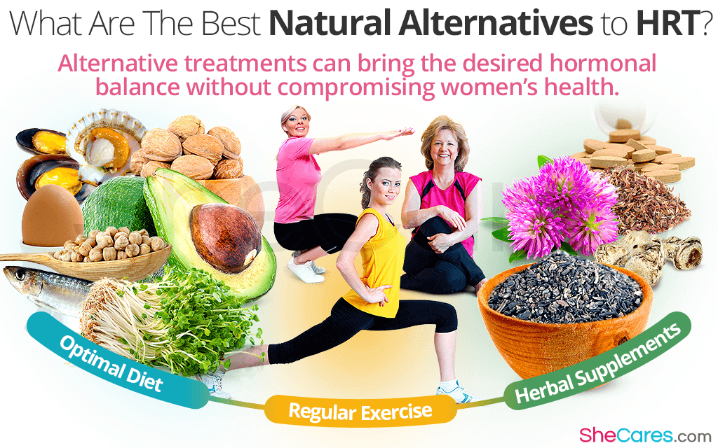 What Are The Best Natural Alternatives to Hormone Replacement Therapy?