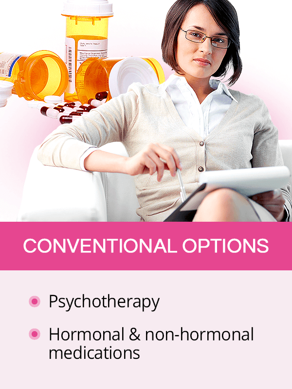 Conventional treatments for menopause