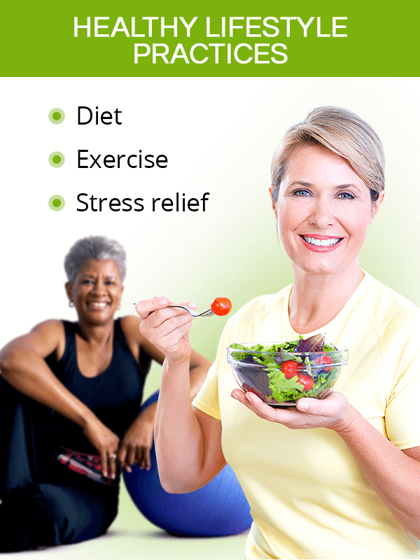 Healthy lifestyle practices for menopause