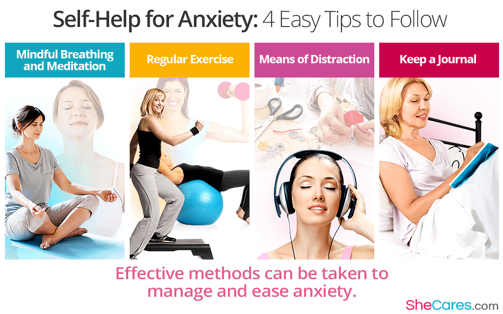 Self-Help for Anxiety: 4 Easy Tips to Follow