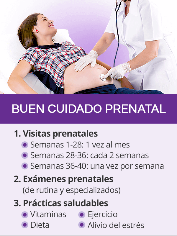 Buen cuidado prenatal