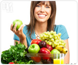 Eat a healthy diet to avoid estrogen imbalance.