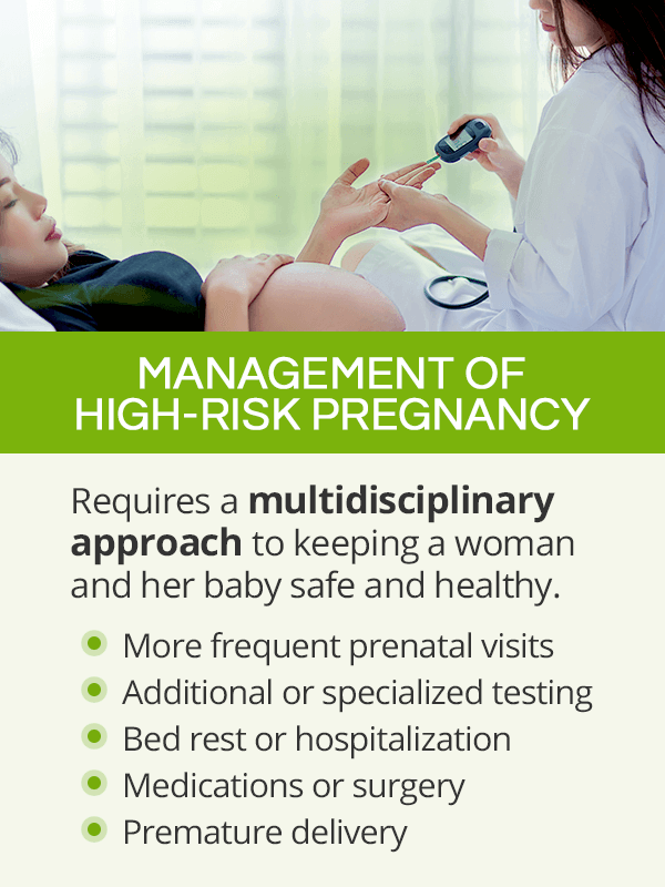Management of high-risk pregnancy