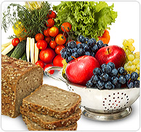 Eat a healthy and balanced diet filled with fruits, vegetables, and whole grain fibers