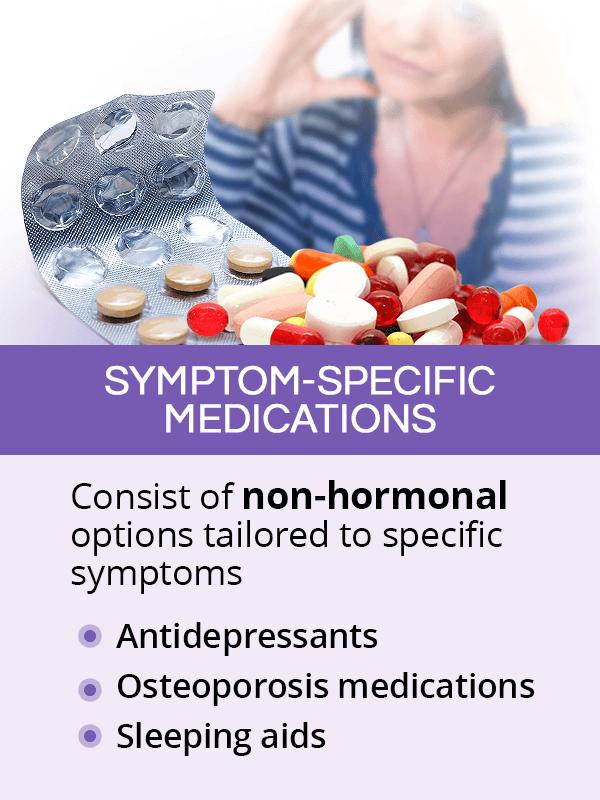 Non-hormonal menopause medications
